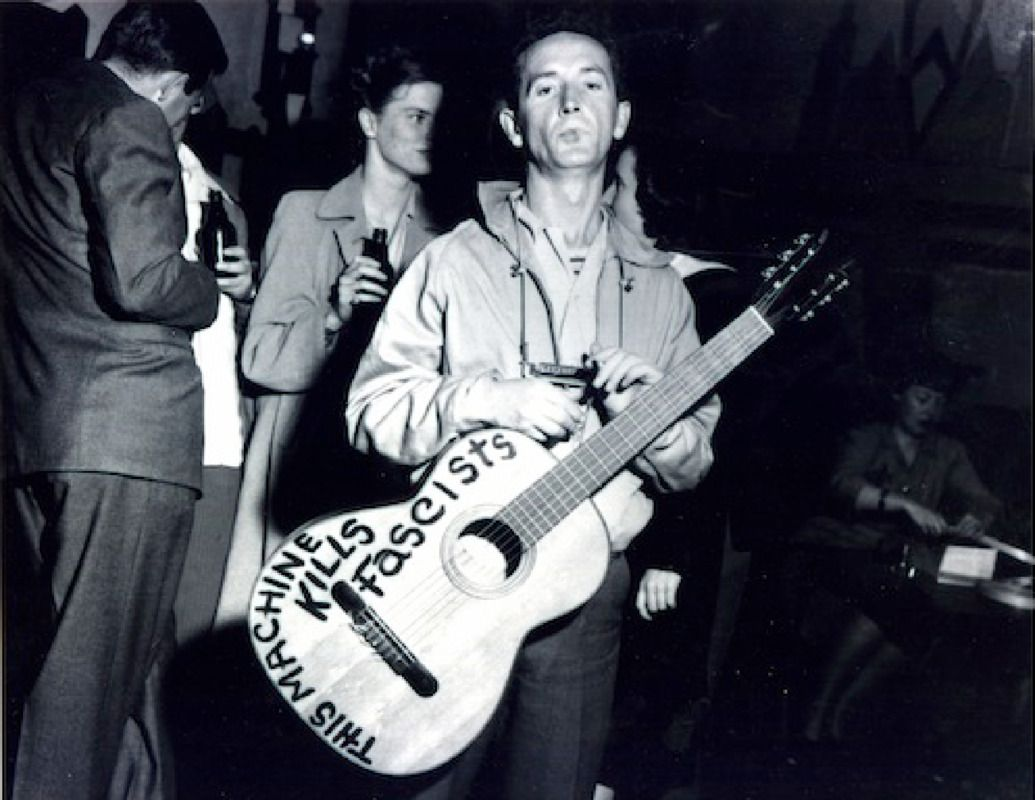Hear Woody Guthrie's Unreleased 'My Name Is New York' - Premiere   Rolling Stone
