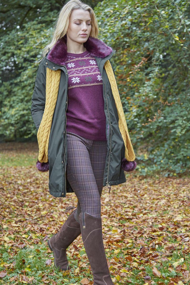 Toggi Ladies Madox Fairisle Jumper