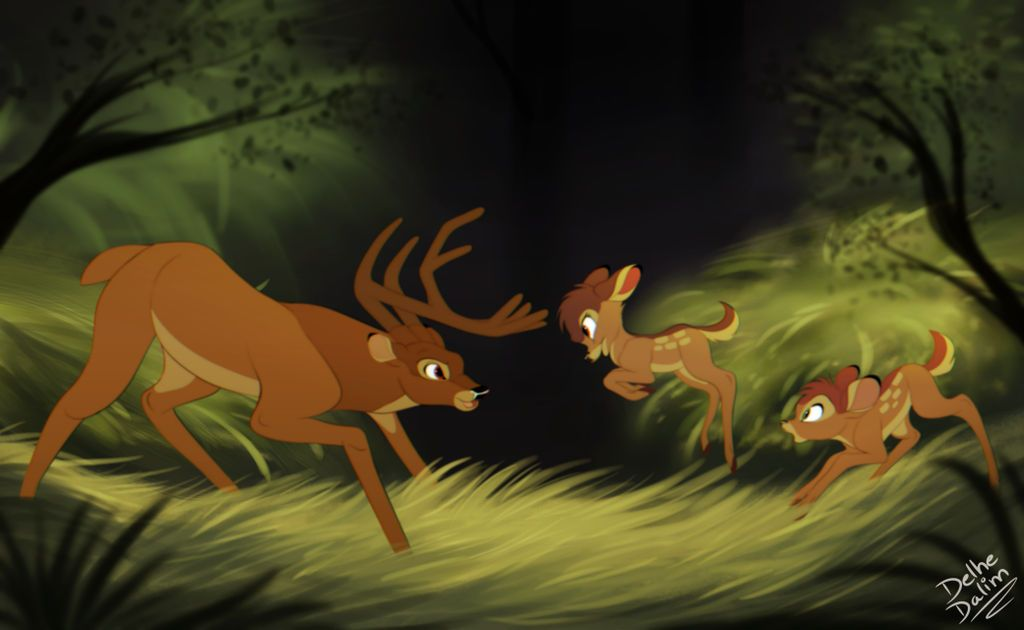 9656ab16d Gurri! by delhedalim | Disney | Bambi disney, Disney art, Disney ...