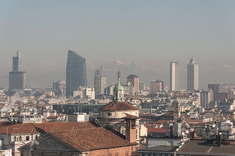 Milano Le Terrazze Del Duomo Chiesa Di San Carlo Torre