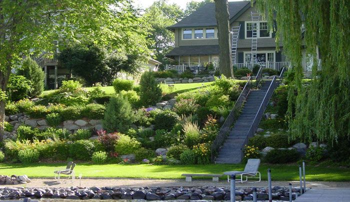 Garden Design On Steep Slopes steep slope landscaping ideas – erikhansen