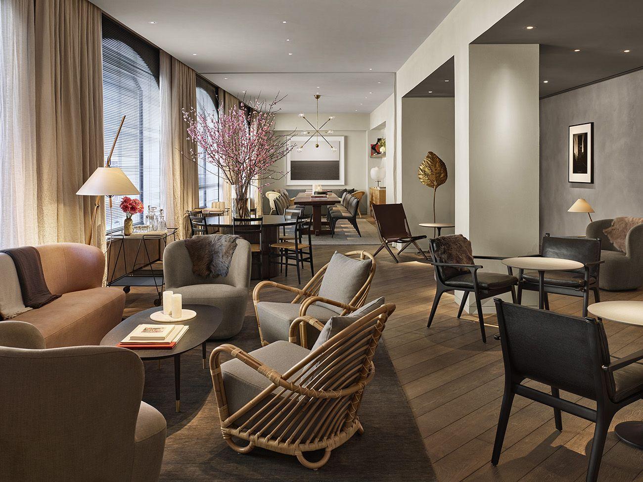 A Scandinavian Glam Retreat On The Footprint Of A Holiday Inn 11 Howard Hotel Howard Hotel Soho Hotel