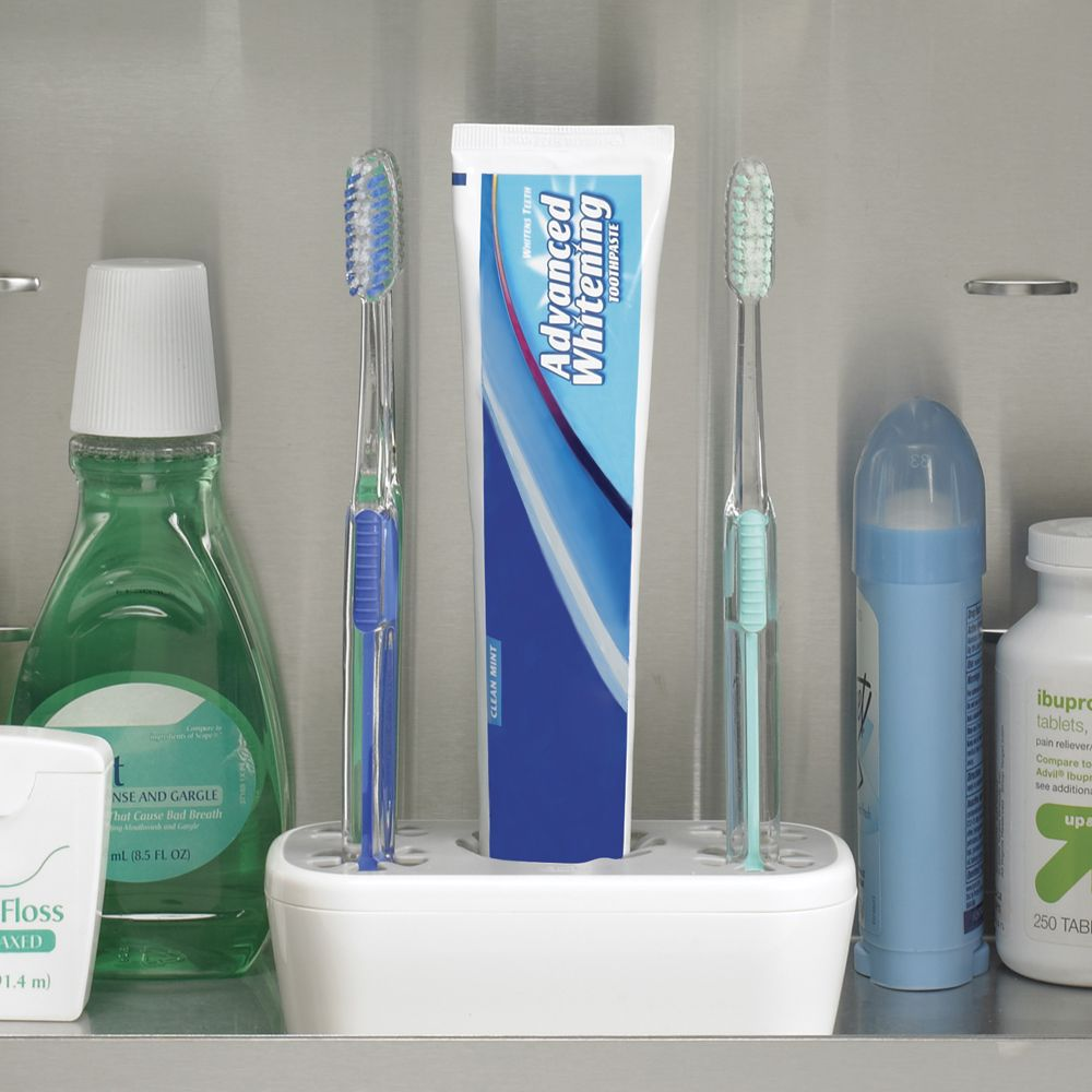 upright toothbrush holder for medicine cabinet $9.99 | For the Home ...