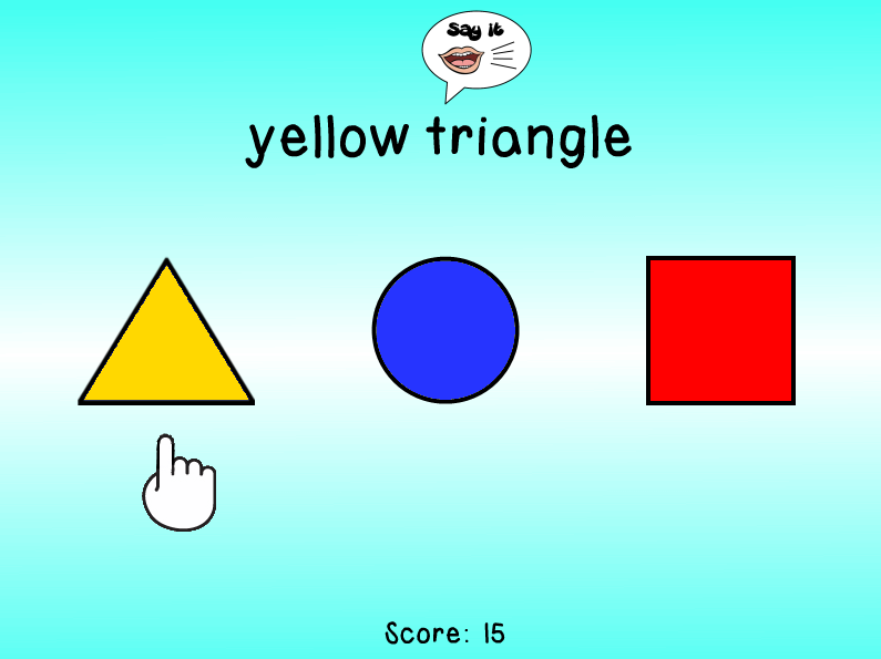 Double Click Colors Shapes Doubles As A Lab Game That Helps Teach