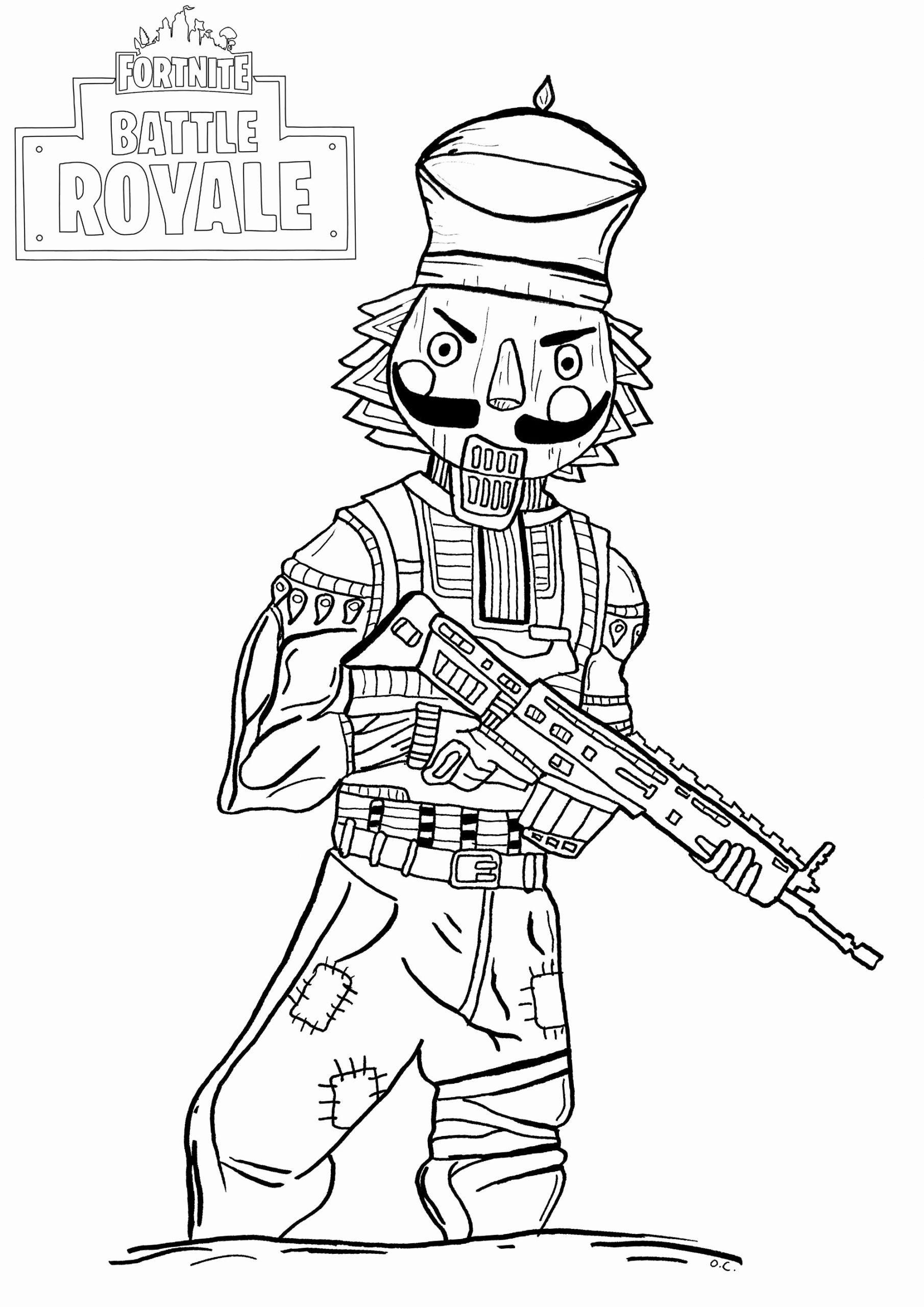 Printable Fortnite Coloring Pages Fresh Fortnite Battle Royale Crackshot Fortnite Battle In 2020 Cartoon Coloring Pages Christmas Coloring Pages Coloring Pages