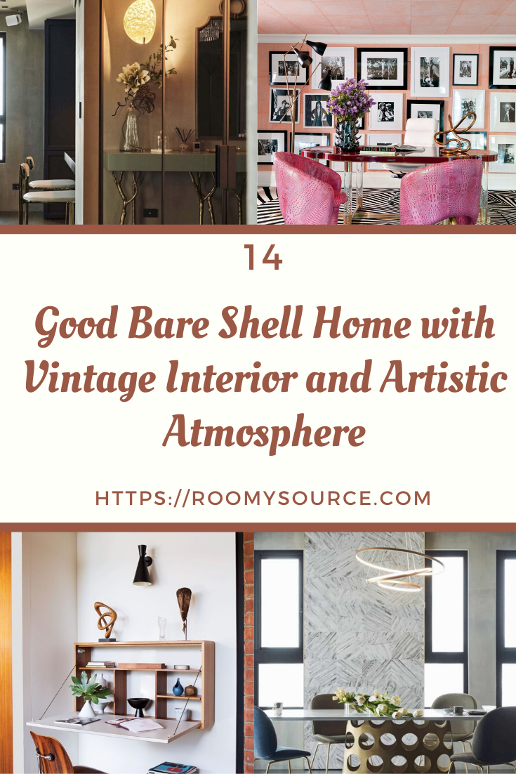 12 Top Bare Shell Home with Vintage Interior and Artistic Atmosphere #homeinterior