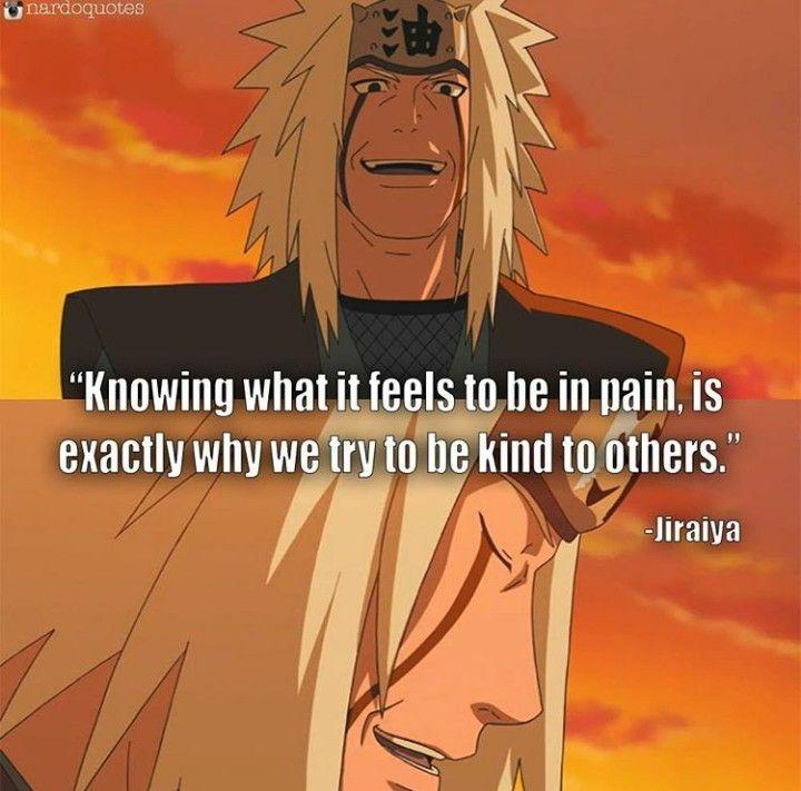 Jiraiya #quote | Jiraiya quotes, Anime quotes ...