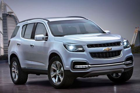 2013 Chevrolet Trailblazer Http Blogs Cars Com Kickingtires 2012 03 First Look 2013 Chevrolet Trai Chevrolet