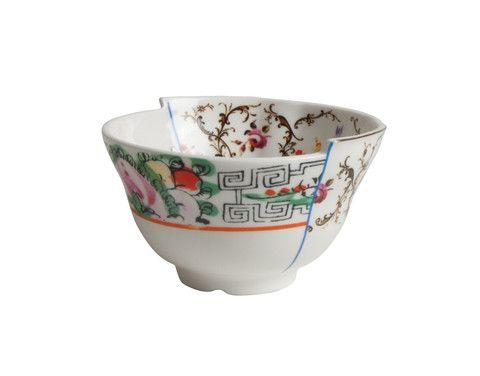 Hybrid Irene Porcelain Fruit Bowl design by Seletti