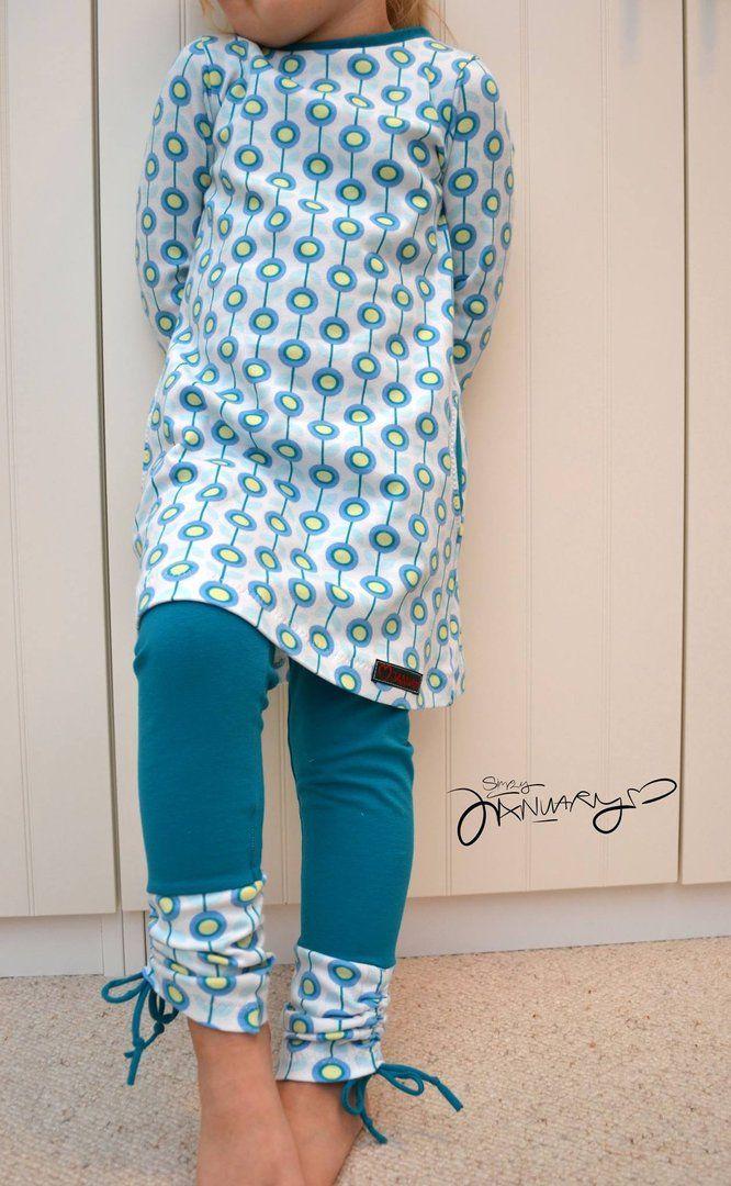 Ebook Binta A-Linie-Kleid Gr. 80-164 - Schnittmuster und