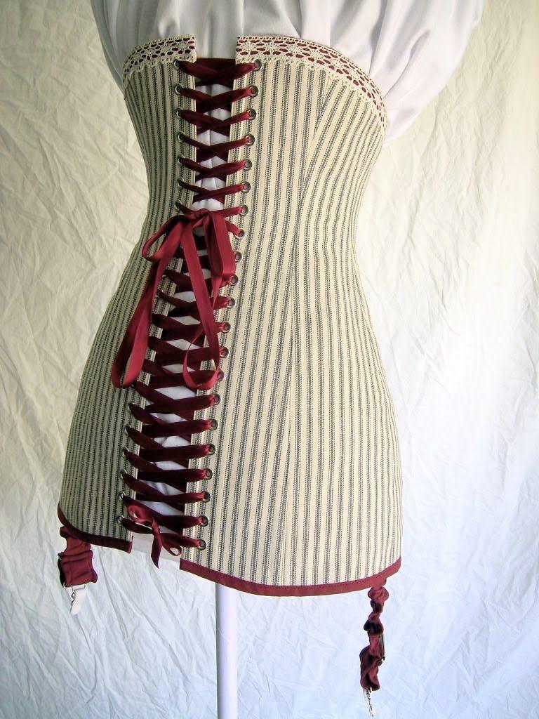Bridges on the Body: titanic era corset and pattern
