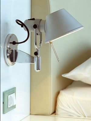 Artemide Tolomeo Wall Spot Michele De Lucchi Giancarlo Fassina Wall Mounted Light For Adjustable Direct And Indirect Incandescent Lighting Lampen Leuchten