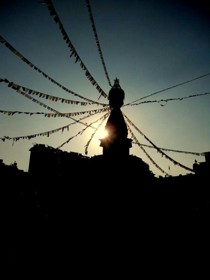 Estupa budista. Kathmandú, Nepal.