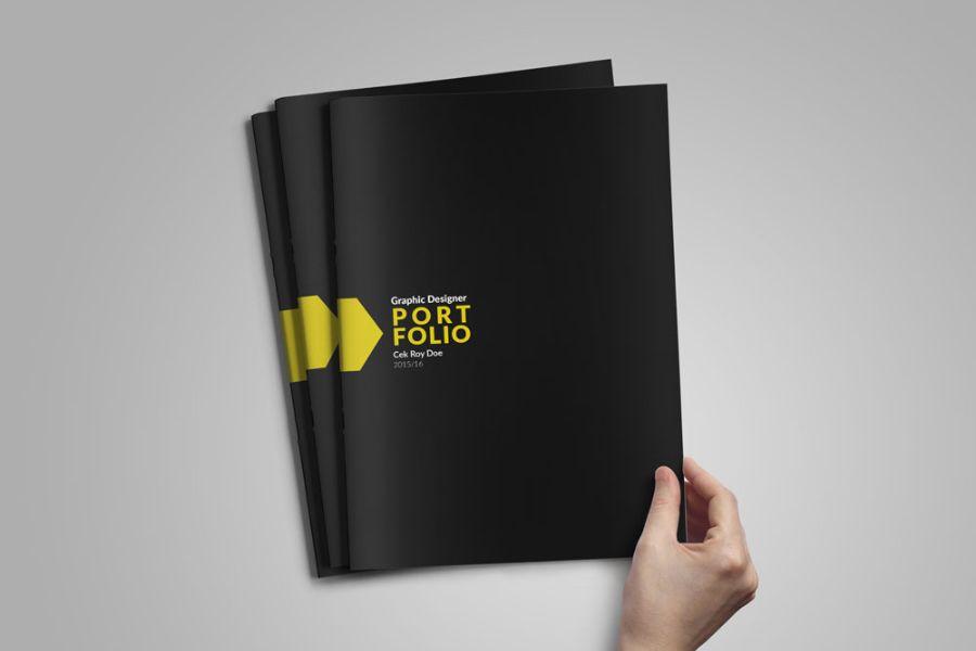 Graphic Designer Portfolio Template | Design | Pinterest | Portfolio ...