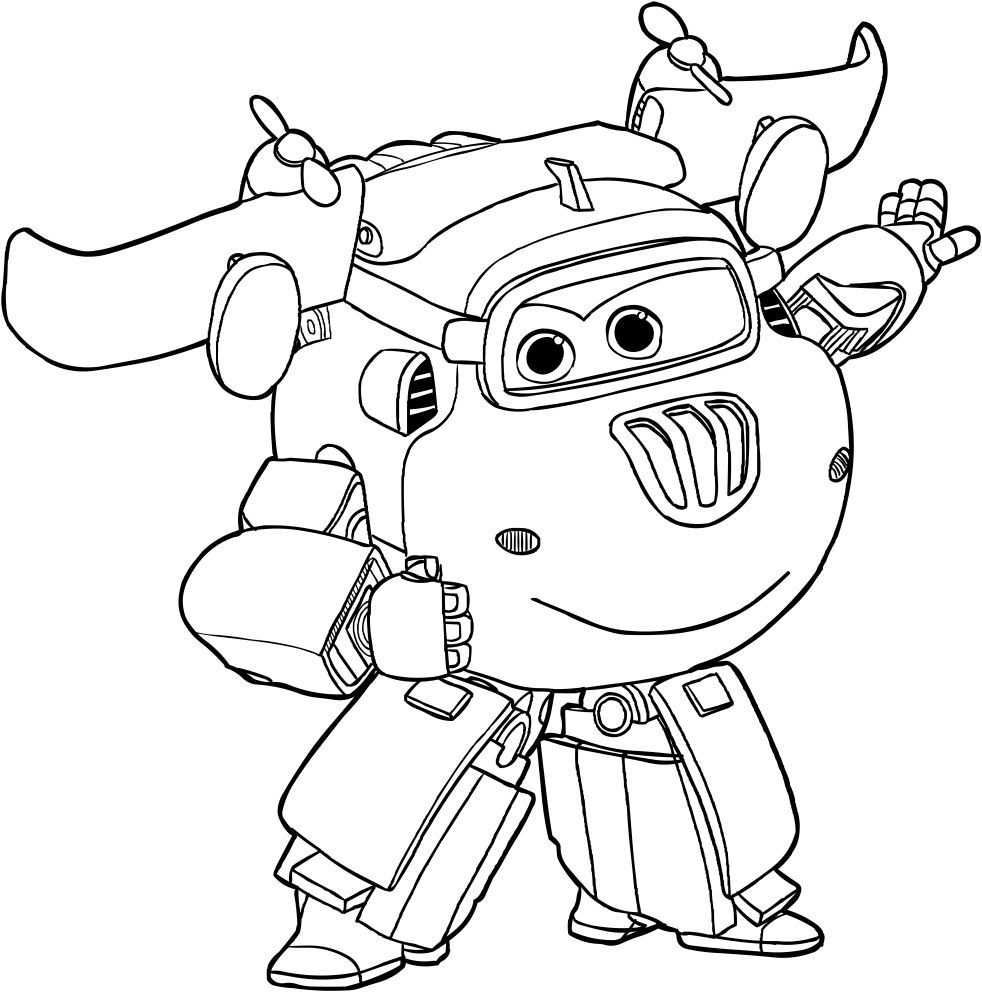 Super Wings Coloring Pages Best Coloring Pages For Kids Cartoon Coloring Pages Coloring Pages For Kids Coloring Pages