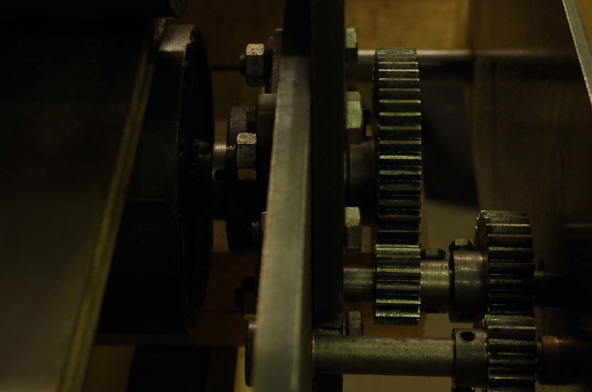 Gears #handmade #etchingpress #etchingstudio #art #peckham