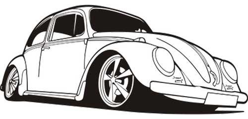 50 desenhos de carros para colorir pintar vw pinterest vw
