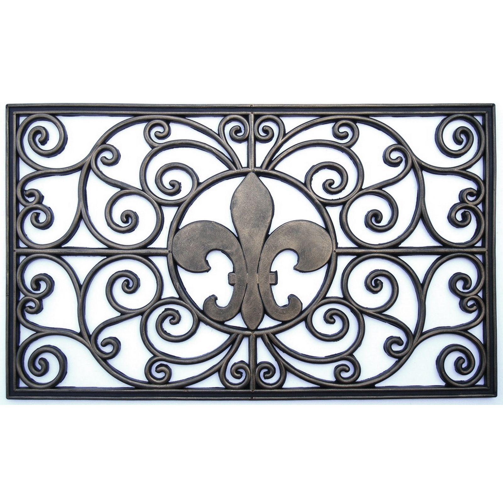 Our Best Decorative Accessories Deals Door Mat Decorative Vent Cover Fleur De Lis Fleur de lis door mats