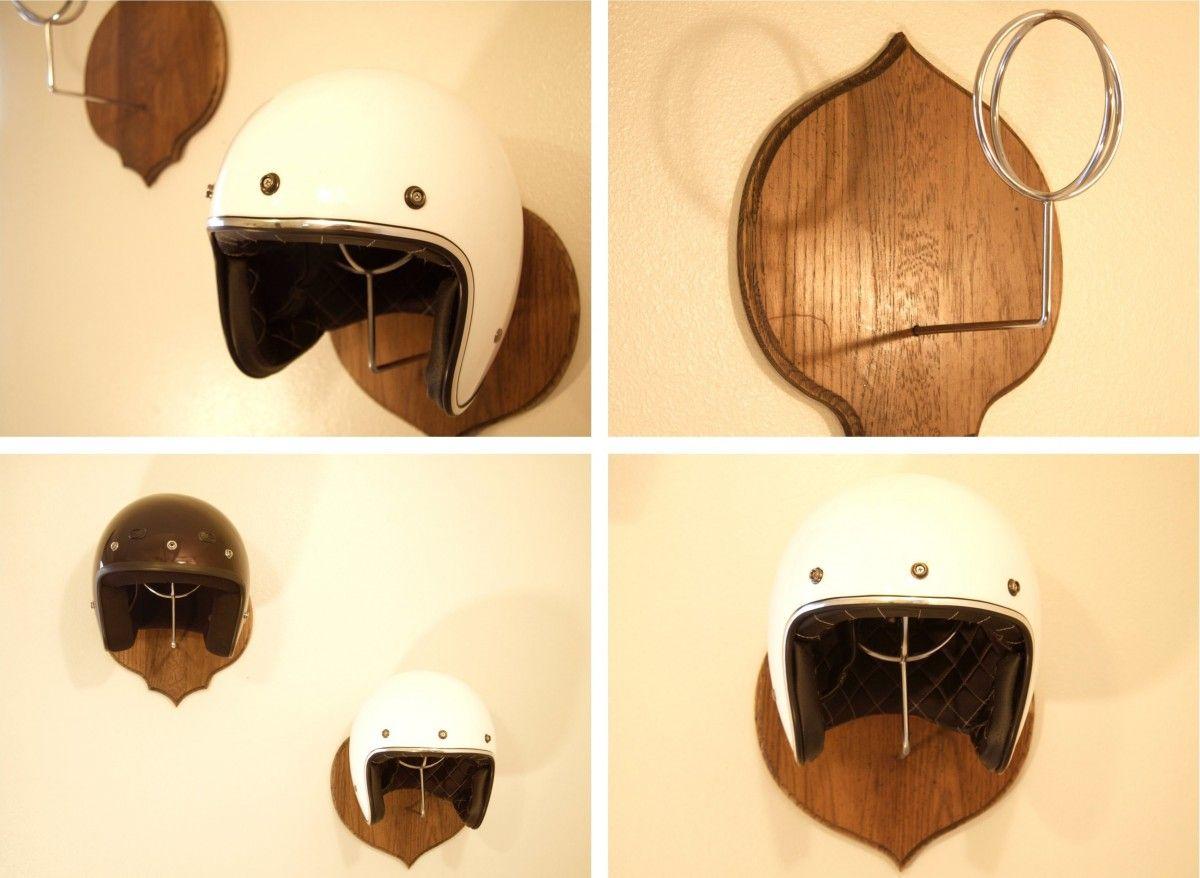 porte casque moto classe lifestyle en 2018 pinterest moto porte casque moto et casque. Black Bedroom Furniture Sets. Home Design Ideas