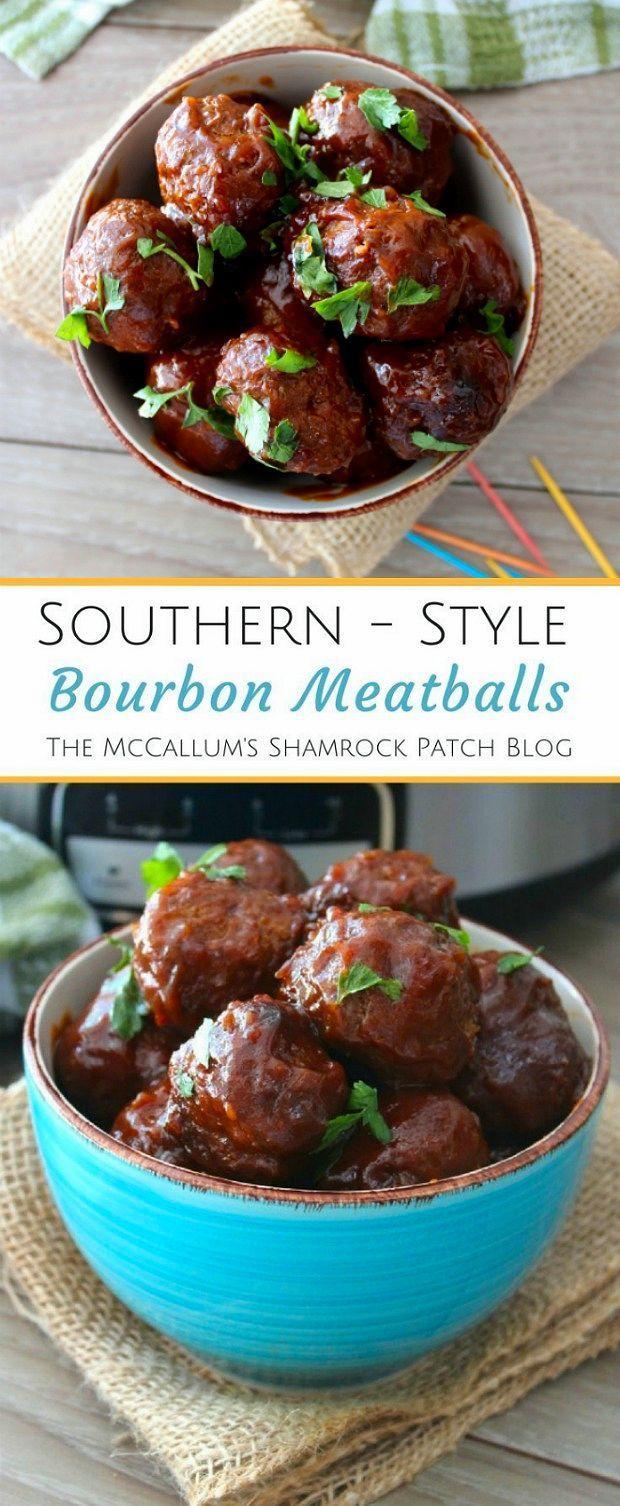 Photo of Southern-Style Bourbon Meatballs Recipe