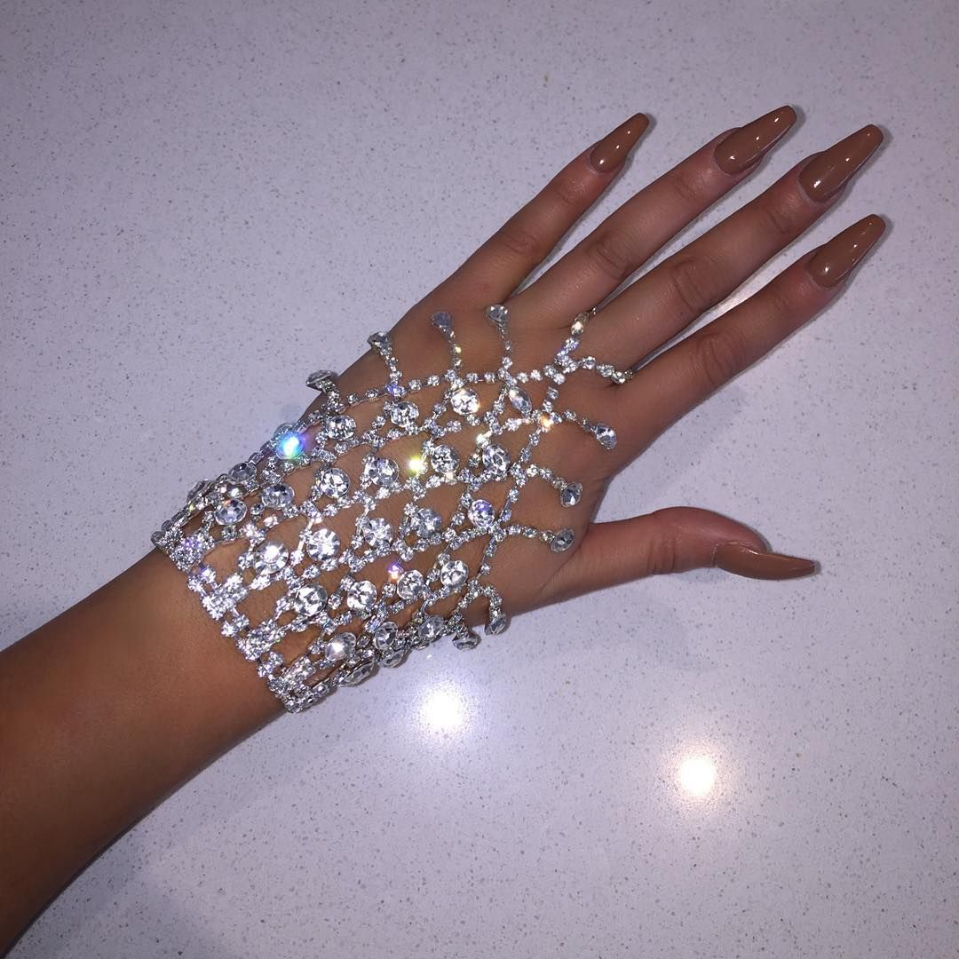 Glitz Glam Blue Diamontrigue Jewelry: Bling, Prom Jewelry, Cute Jewelry