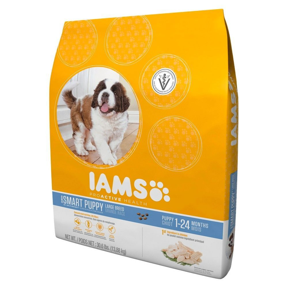 Iams Proactive Health Smart Puppy Large Breed Dry Dog Food 30 6
