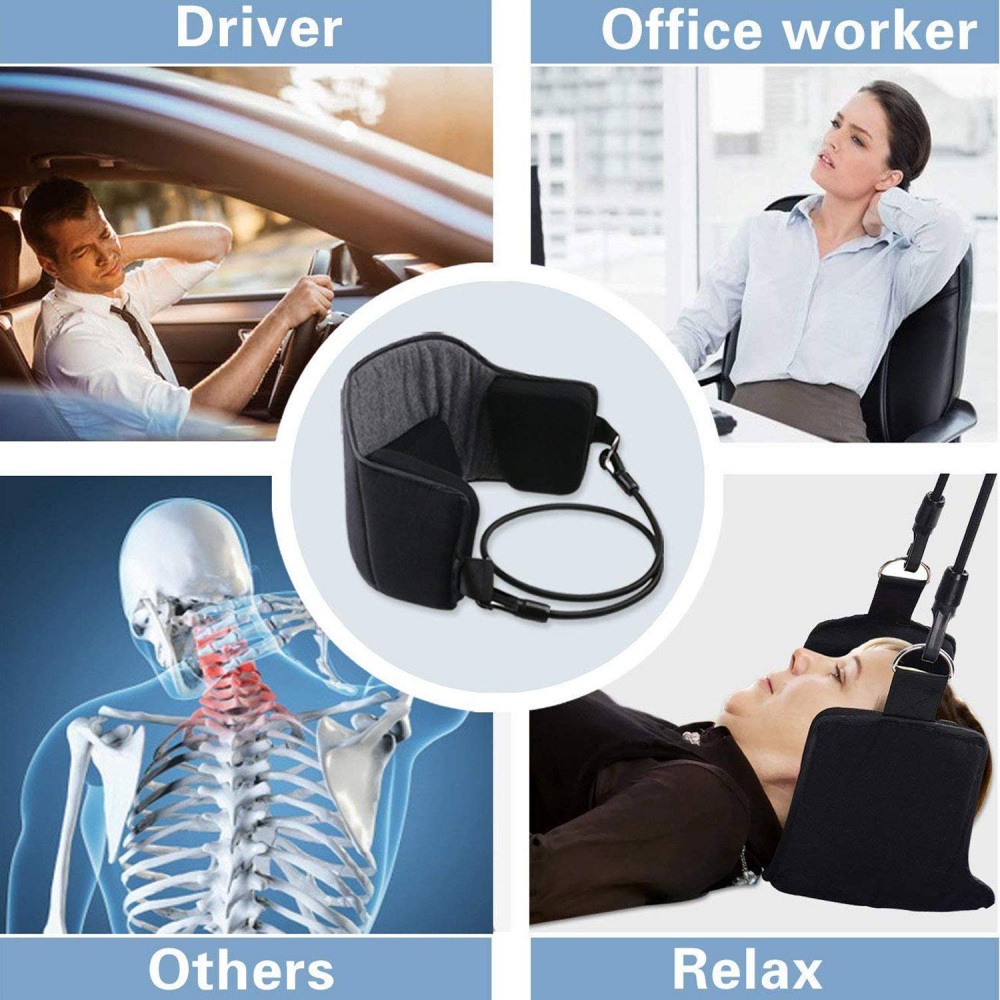 NeckRelax is a handy neck hammock which is lightweight and portable. It can be carried easily and se...