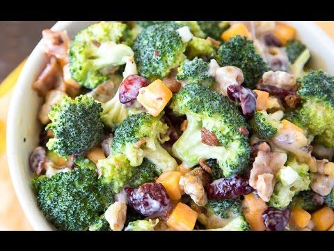 Pin On Broccoli Bacon Salad