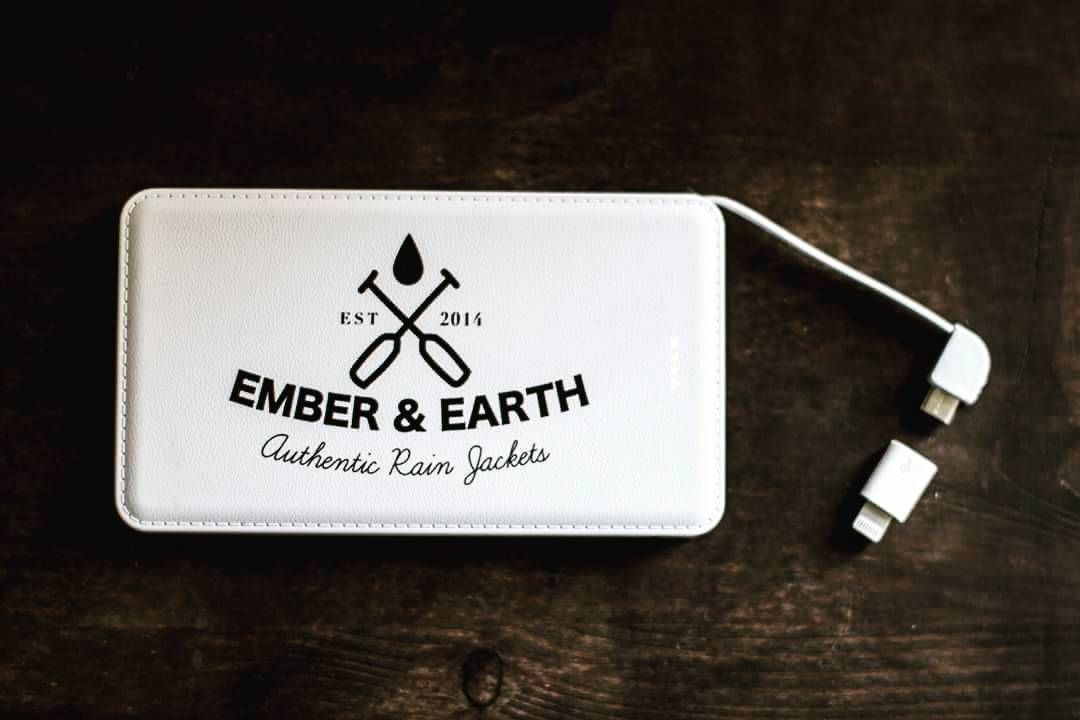 We are excited to announce the newest addition to the Ember&Earth collection - Our very own Power Banks!  They come in both 5000mAh and 10000mAh with built in micro usb and iPhone adapter so are ready to use at a moment's notice! The perfect companion to our rain jackets whether at festivals hikes or any adventure that you'll need some extra juice! - Slim compact and durable build - Class A Polymer battery - 2.1A rapid charging - twice as fast as your average charger - Short Circuit…