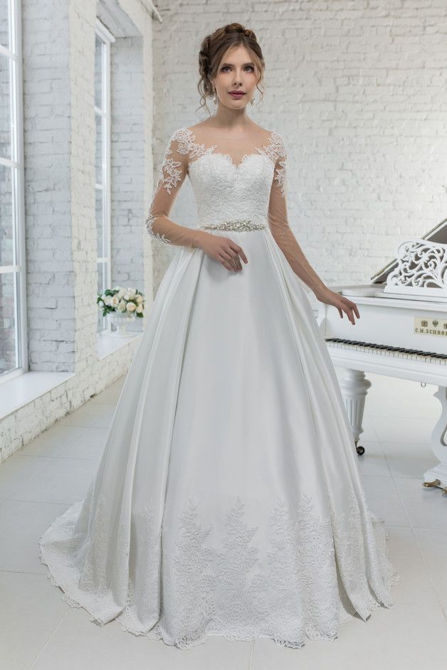 Wedding Dress Hochzeitskleid Brautkleid SHAILA | Diy design, Wedding ...