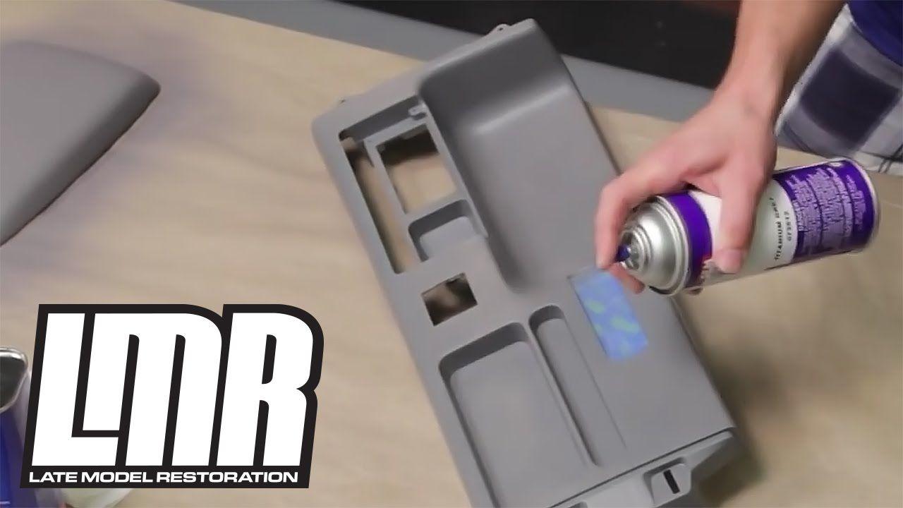 how to paint dye interior vinyl plastic parts mustang tech fox