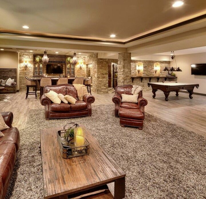 Home Design Basement Ideas: Clever Finished Basement Plans Decor Ideas You Will Love