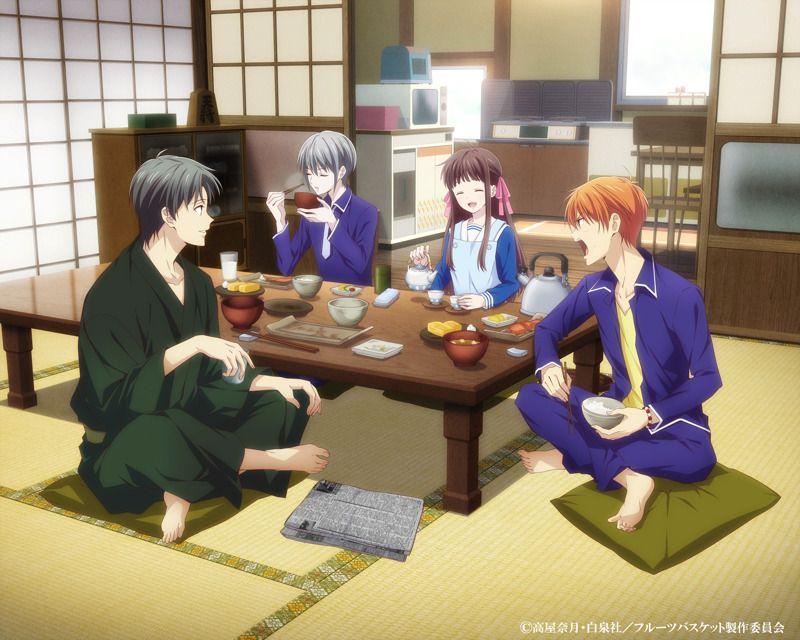 El nuevo anime de fruits basket ha revelado a 3 nuevos
