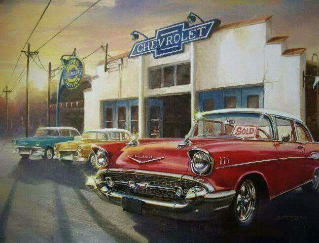 TBT Vintage Chevrolet.
