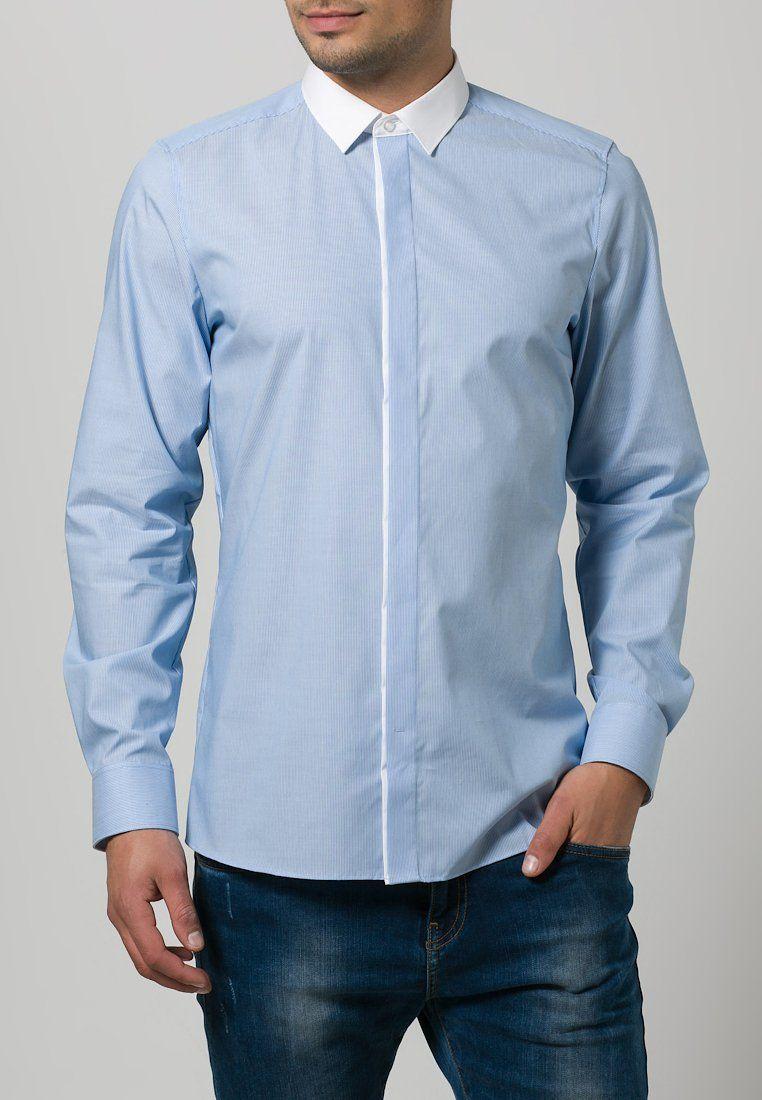 Olymp Level 5 Body Fit Businesshemd Hellblau Zalando De Body Fit Hemd Hellblau