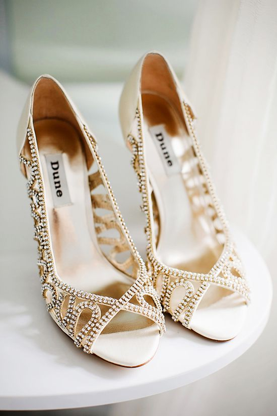 Glamorous Uk Barn Wedding Bridesmaids Heels Dune Wedding Shoes Gold Wedding Shoes
