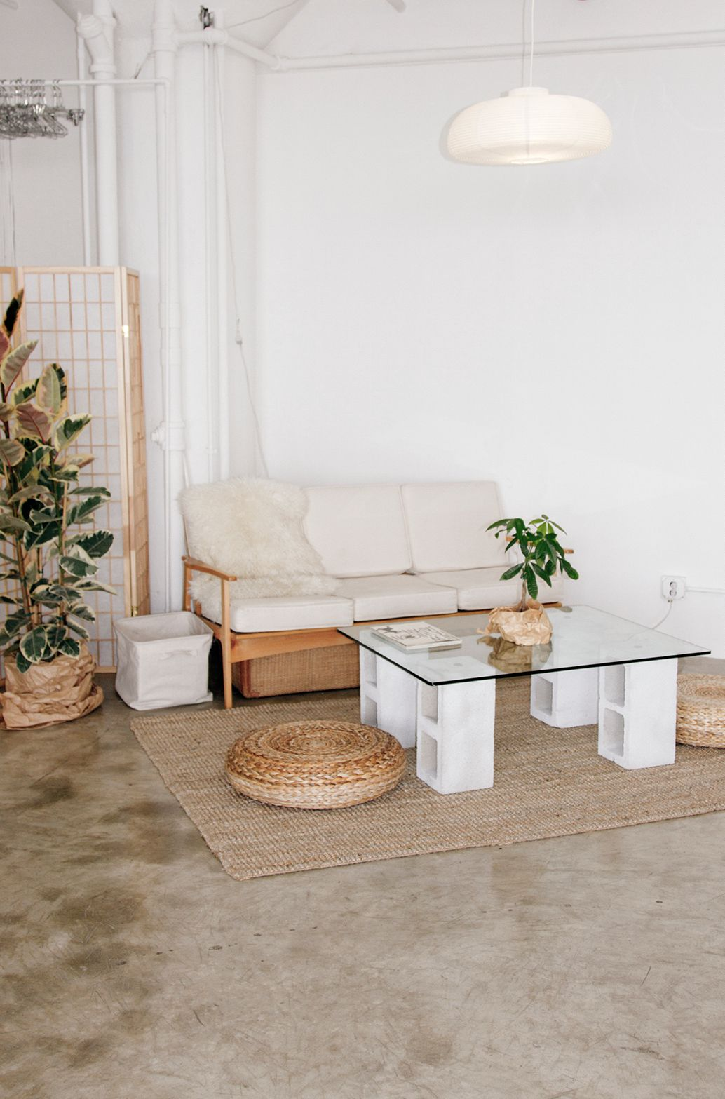 Love Diy Concrete Table Easy Mimic With