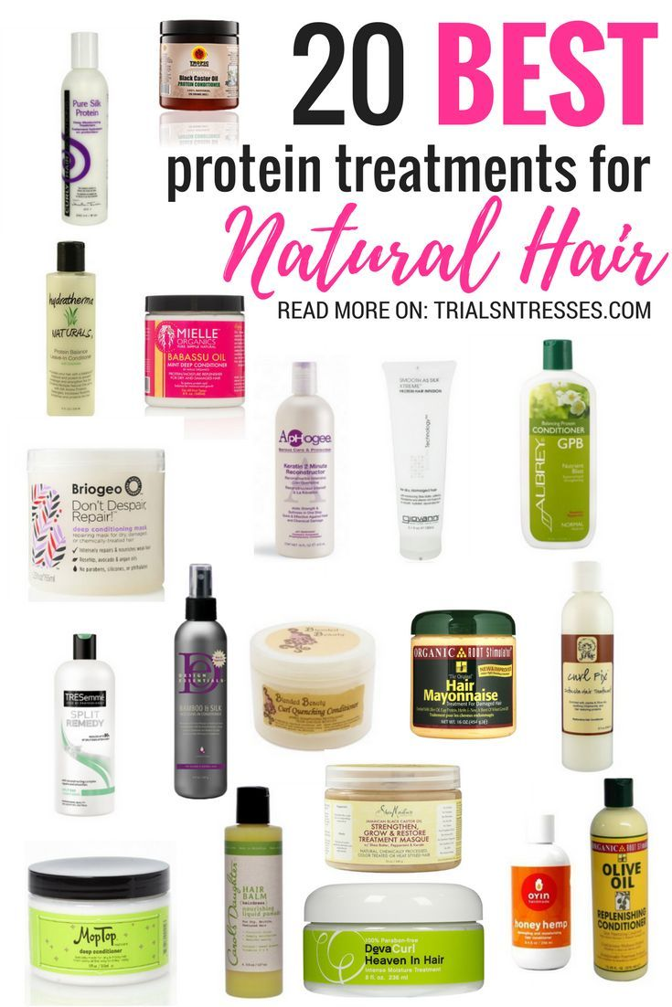 20 Best Protein Treatments For Natural Hair  Natural