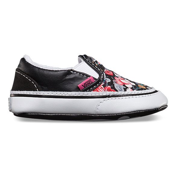 c8436580e86c Vans Shop Multi Floral Slip-On - The Multi Floral Classic Slip-On has a durable  canvas upper with multi-floral print