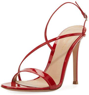 from china cheap price clearance prices Gianvito Rossi Patent Slingback Sandals cheap sale low cost release dates sale online ZmNLv