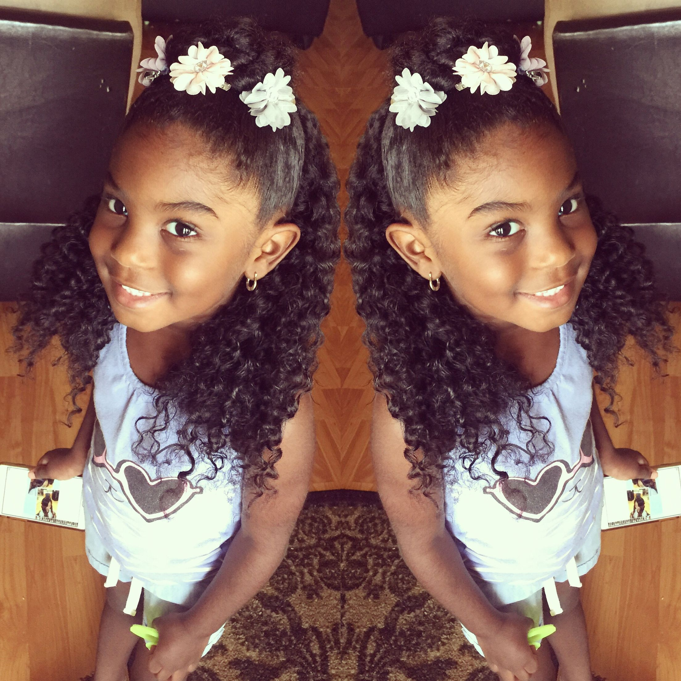 little girls hair for idea for formal occasions .   i love