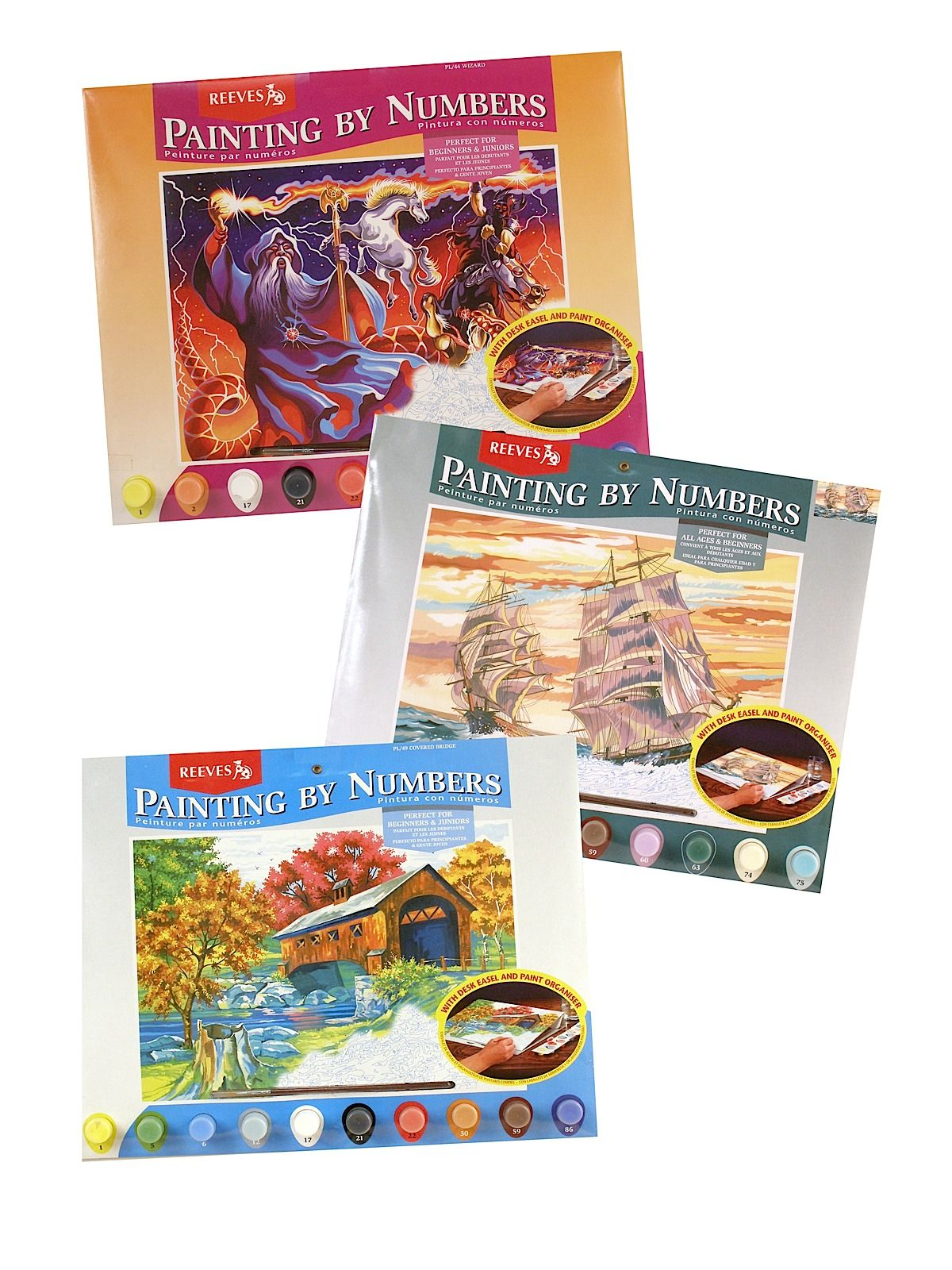 painting numbers kids painting by numbers by reeves is good for