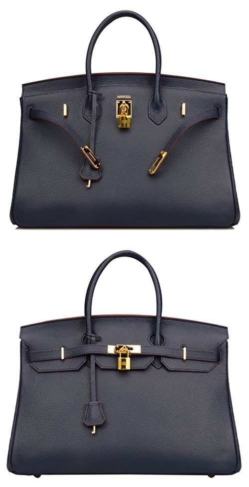 3e370c7ce68 Ainifeel 40cm Oversized Padlock Business Handbags Office Handbags (40cm(Golden  hardware)