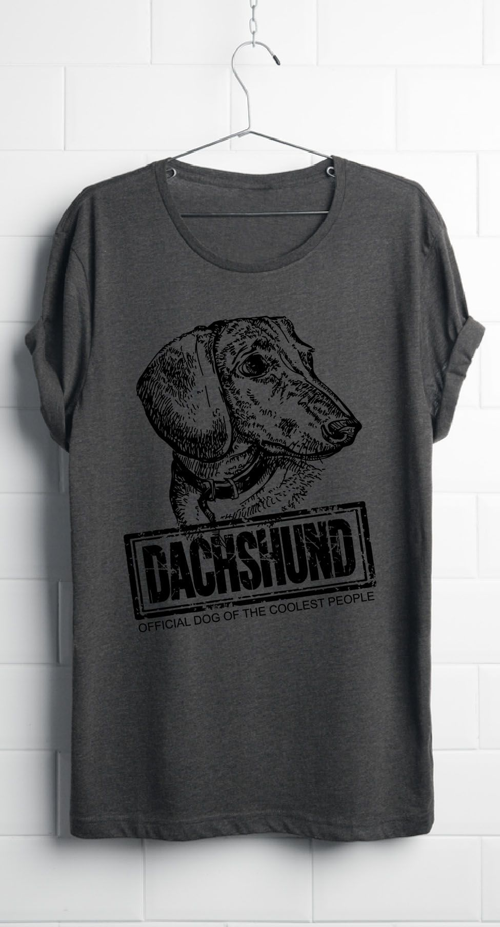 OFFICIAL DOG OF THE COOLEST PEOPLE Dachshund wiener
