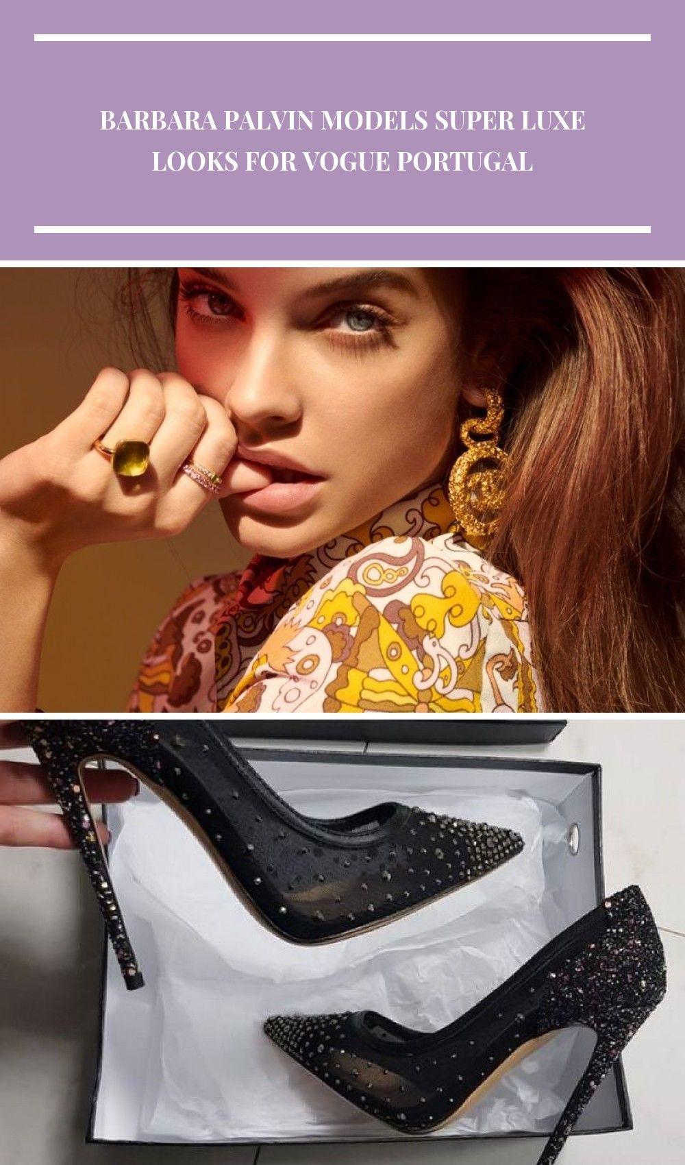 Photo of Barbara Palvin | Glam Jewelry Editorial | Vogue Portugal Cover portugal Barbara …