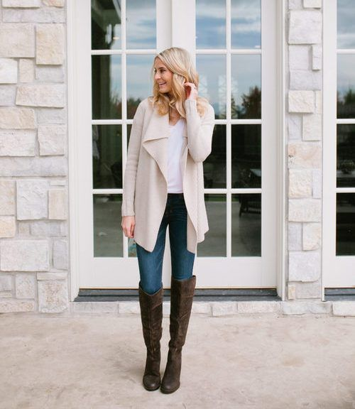 How to wear the waterfall cardigan – Just Trendy Girls | Trendy ...