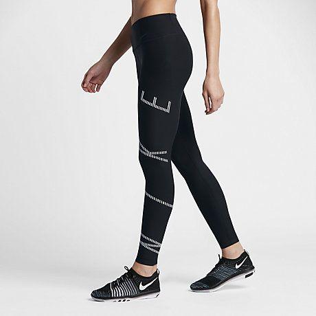 Nike Power Legend Women's Mid Rise Training Tights #Nike