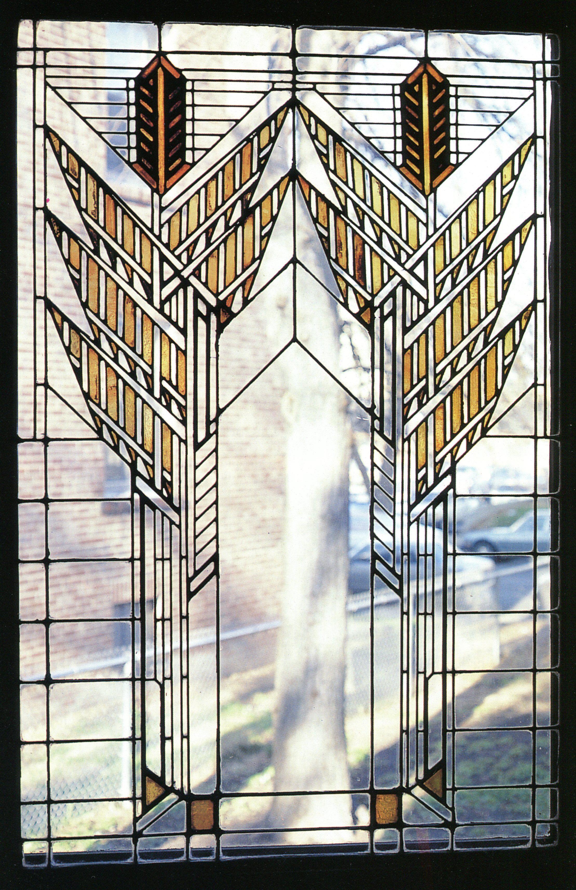 Frank lloyd wright stained glass frank lloyd wright for Window design art