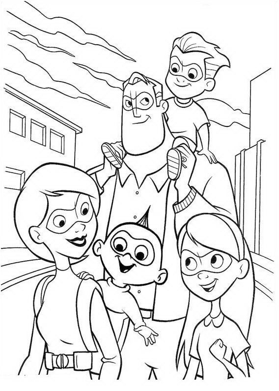 Incredibles Coloring Pages Best Coloring Pages For Kids Family Coloring Pages Disney Coloring Pages Family Coloring