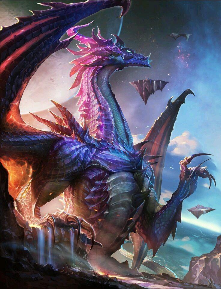 другу картинки с драконами духовке красная белая